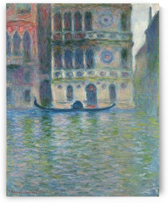 Dario Palace, Venice by Claude Monet