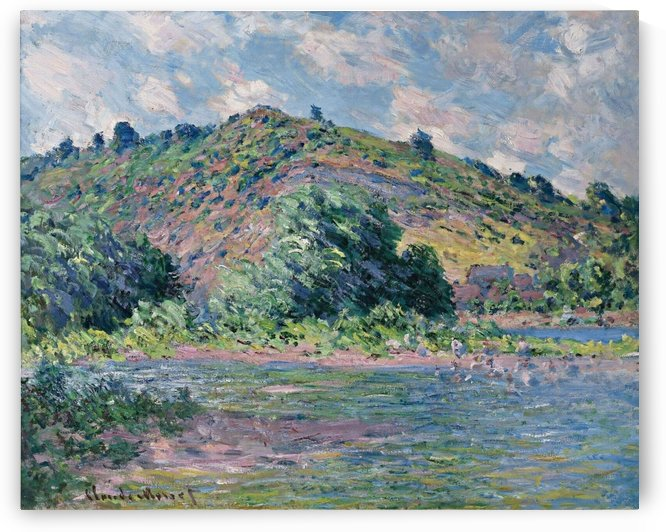 The Banks of the Seine at Port-Villez by Claude Monet