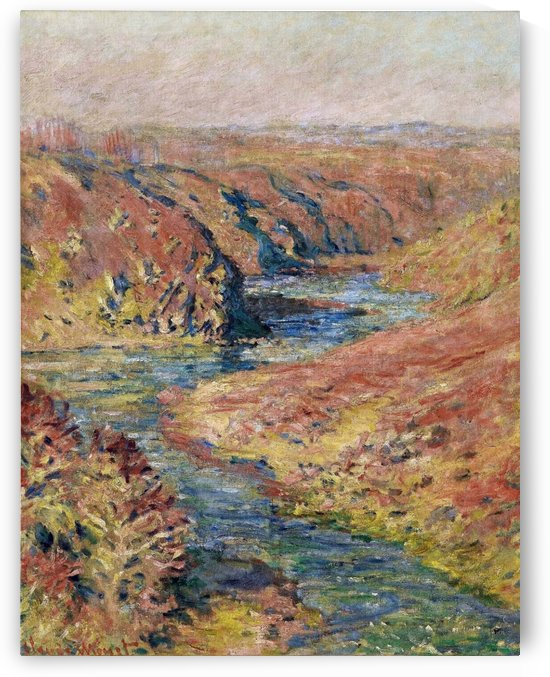 The Valley of the Creuse at Fresselines by Claude Monet