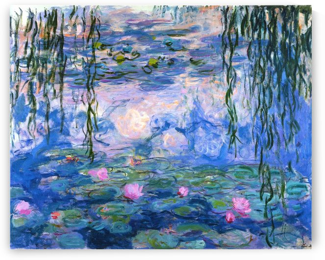The Waterlilies (2) by Claude Monet