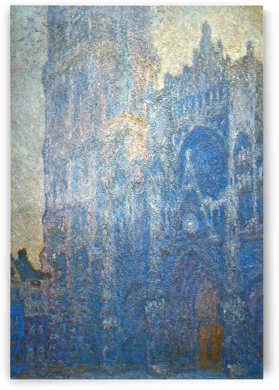 The Cathedral in the Mist by Claude Monet