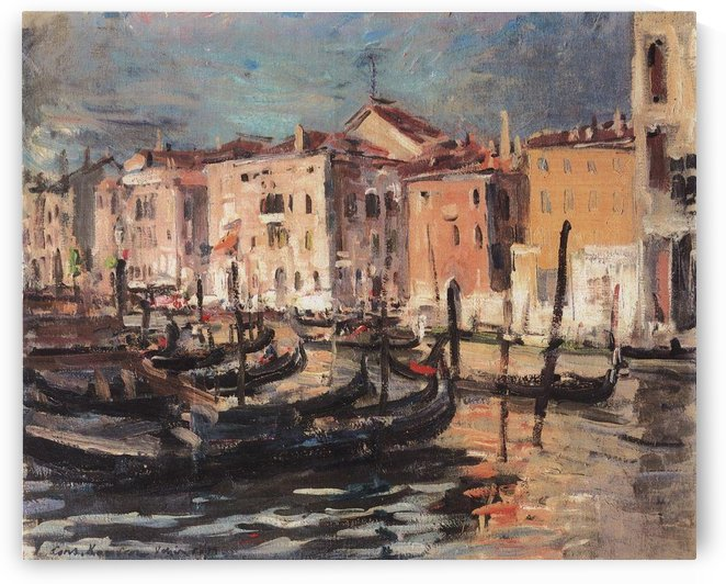 Troika at Sunset by Constantin Korovin