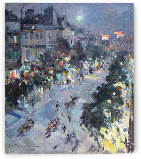 Evening in Paris by Constantin Korovin