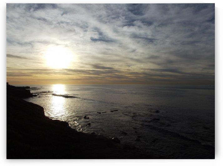 San Diego Sunset Reflection by Linda Peglau