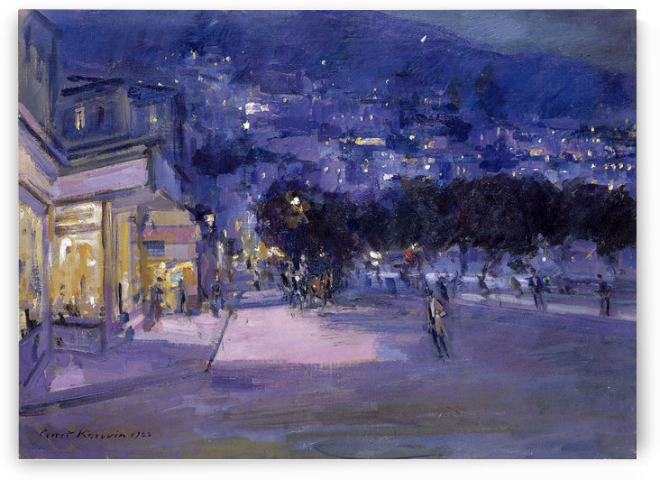 View of Monaco by Constantin Korovin