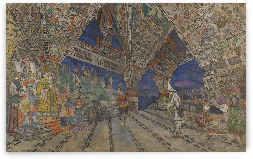 Stage Design by Constantin Korovin