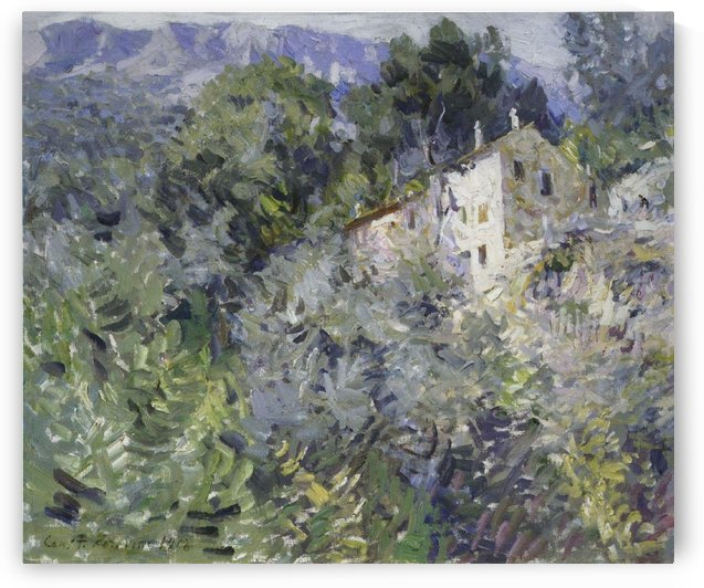 The South of France by Constantin Korovin