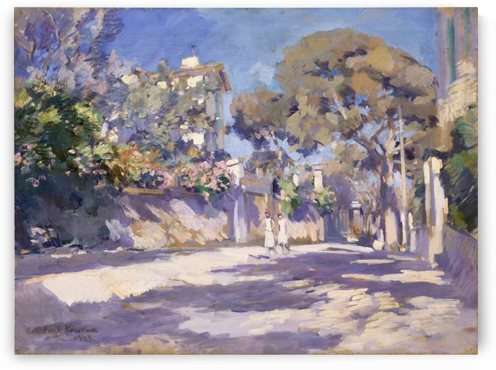 View of the South of France by Constantin Korovin
