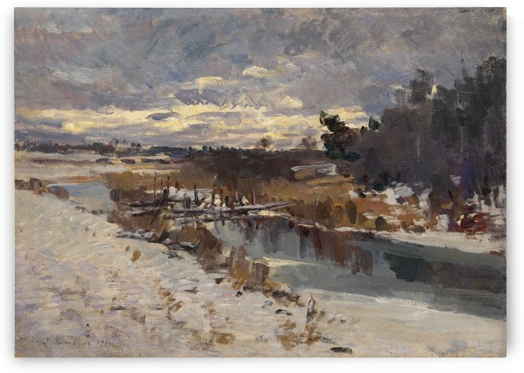 Russian Landscape by Constantin Korovin