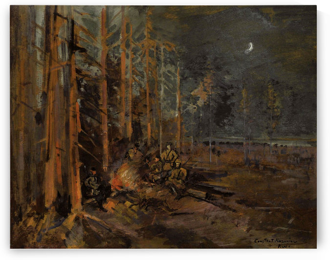 The Campfire by Constantin Korovin