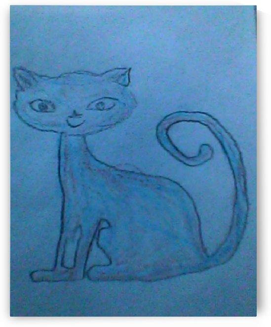 Art 37 Just a Cat by Dragan Mrkalj