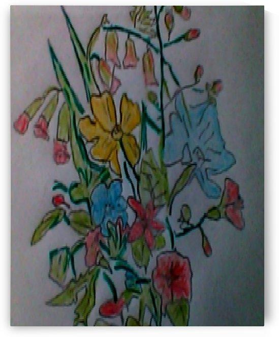 Art 41 Wildflowers by Dragan Mrkalj