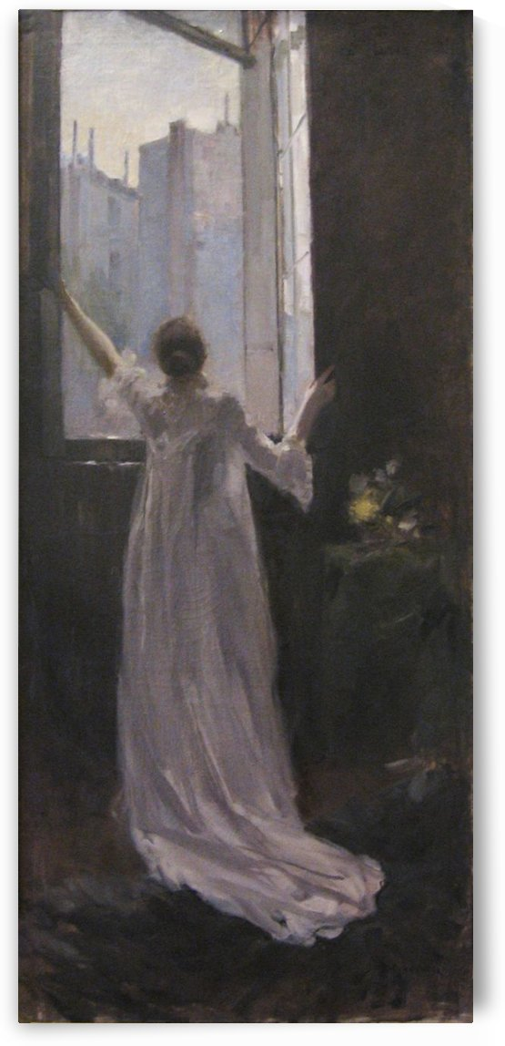 By the Window by Constantin Korovin