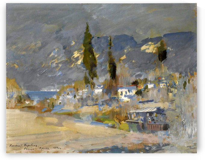 Early Evening, Crimea by Constantin Korovin