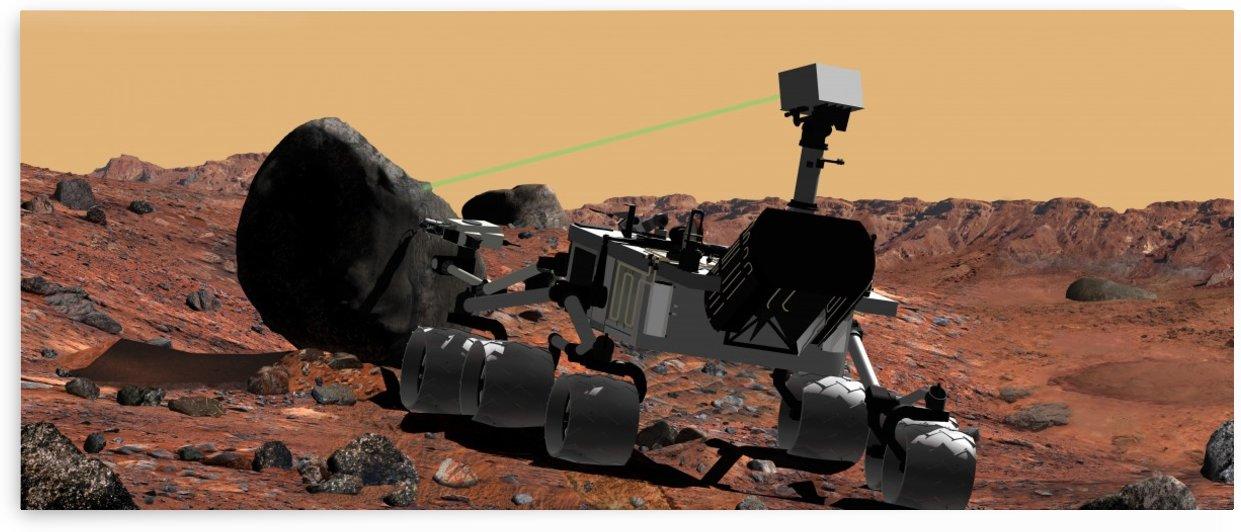 Mars Science Laboratory by StocktrekImages
