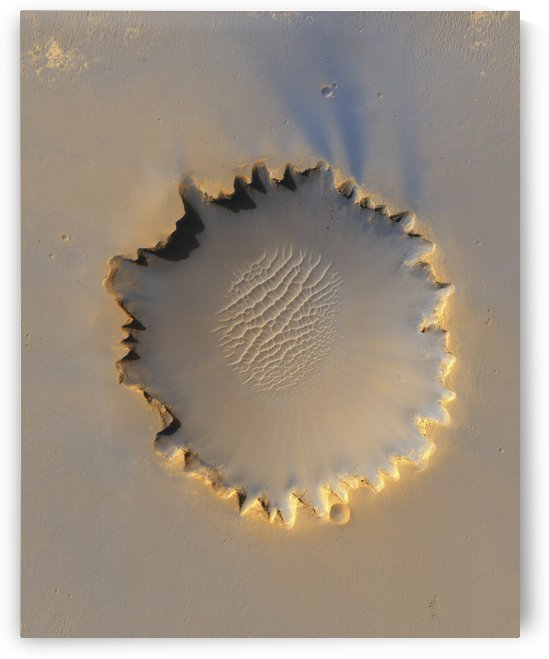 Victoria Crater on Mars by StocktrekImages