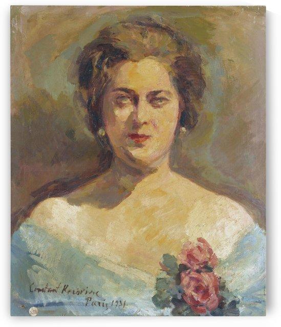 Portrait of Madame Maria Rubin by Constantin Korovin