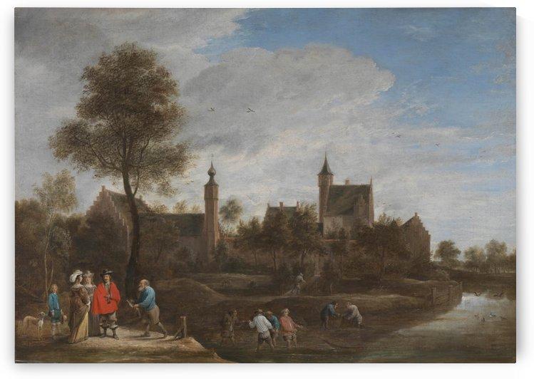 A View of Het Sterckshof near Antwerp by David Teniers the Younger