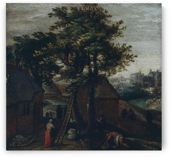 Spring by David Teniers the Younger