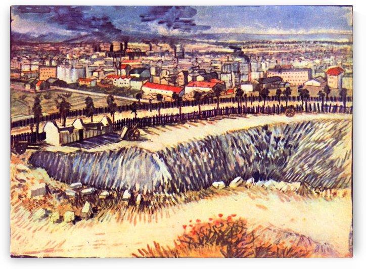 Factory by Van Gogh by Van Gogh
