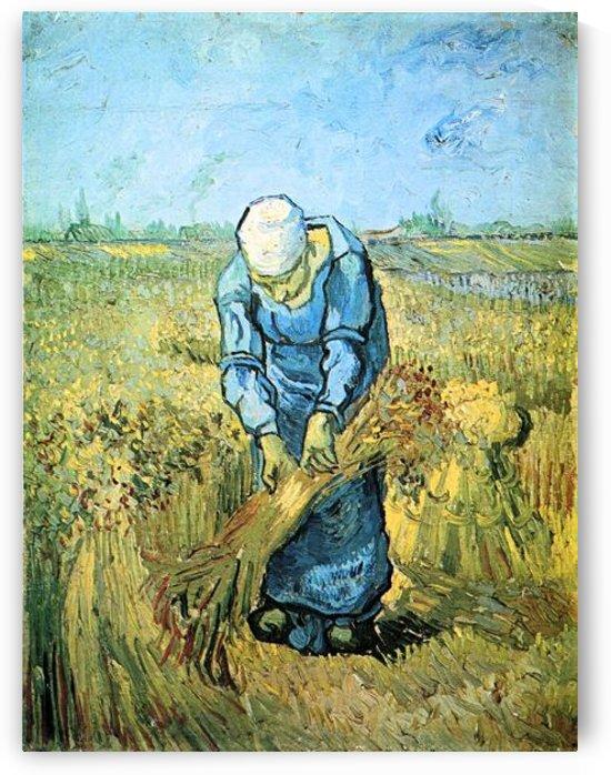 Farm worker by Van Gogh by Van Gogh
