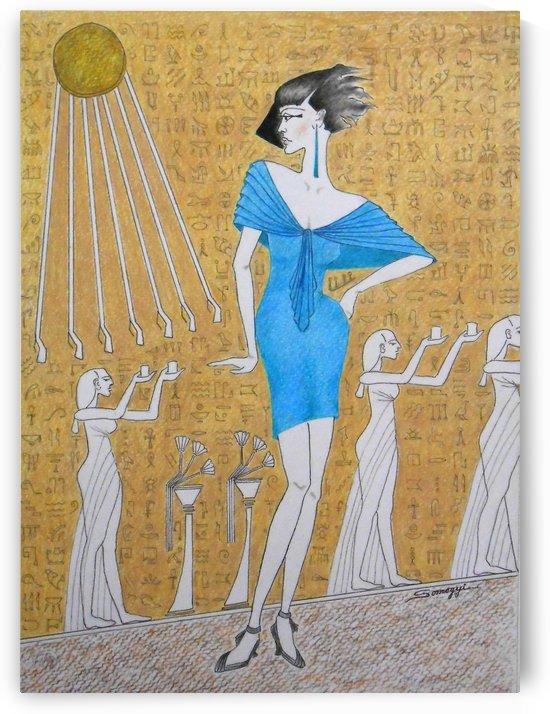 Egyptian Evolution by Jayne Somogy