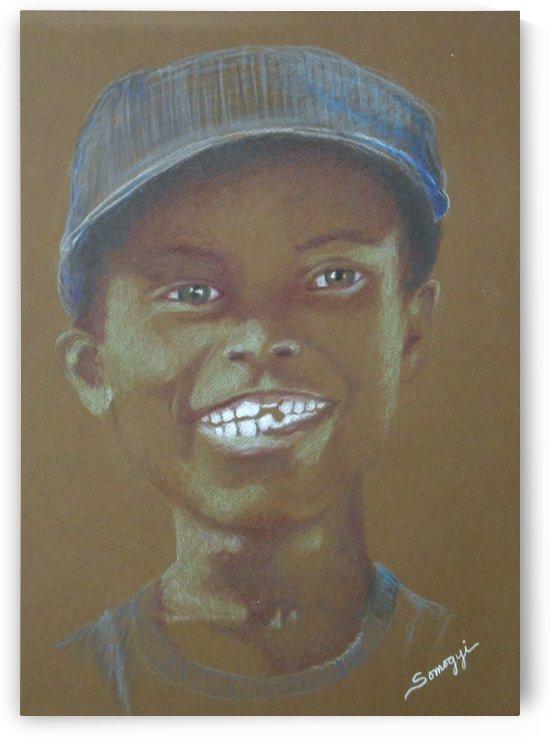Small Boy Big Grin by Jayne Somogy