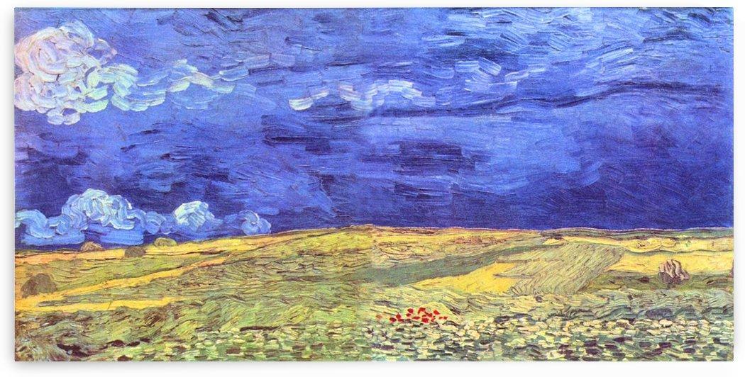 Field under storm heaven by Van Gogh by Van Gogh
