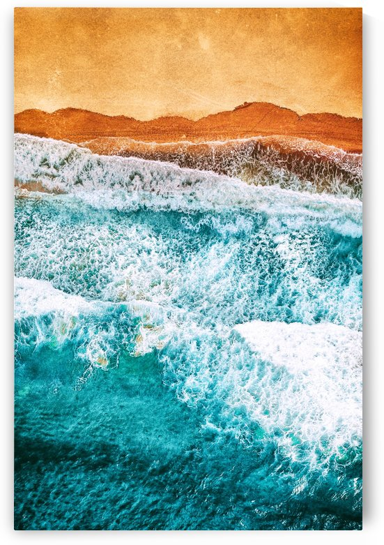 Tropical VI - Beach Waves II  by Art Design Works