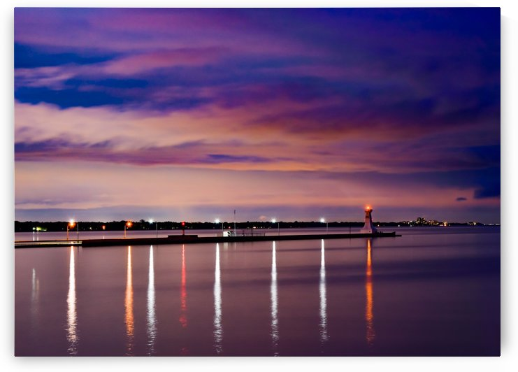 Burlington Lights by Darren LeBlanc