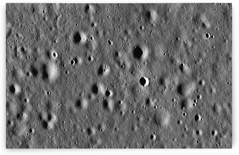 Apollo 11 landing site. by StocktrekImages