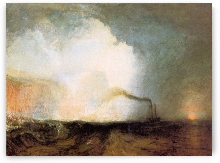 Fingals cave by Joseph Mallord Turner by Joseph Mallord Turner