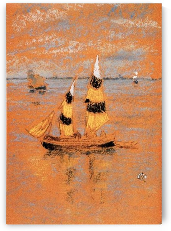 Fishing Boats by Whistler by Whistler