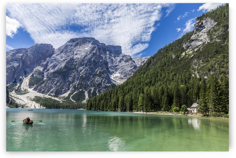 Lake of Braies by Pietro Ebner