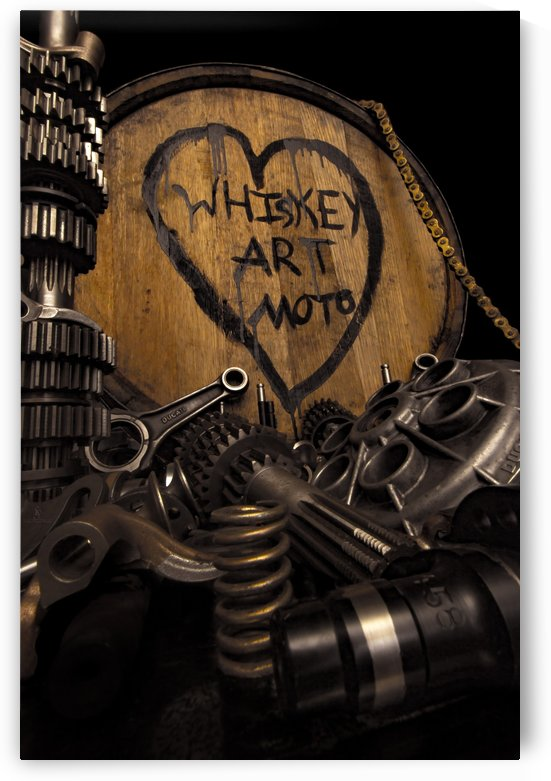 Whiskey Art Moto by  Shawn Connors Designs