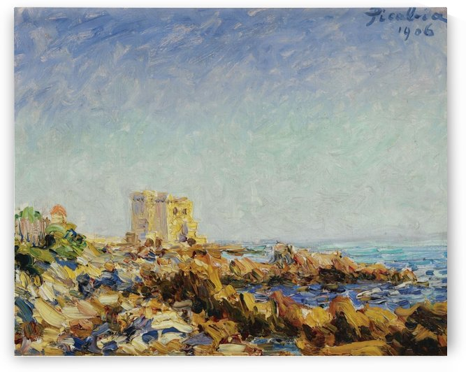 Lile Saint-Honorat by Francis Picabia