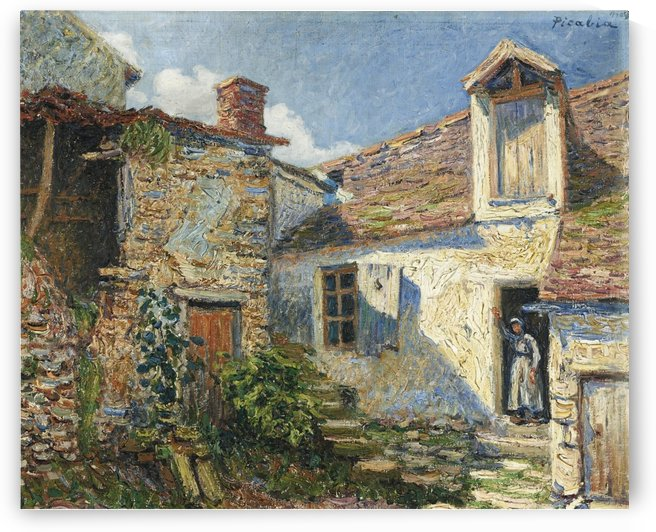 The Farmyard, Moret by Francis Picabia