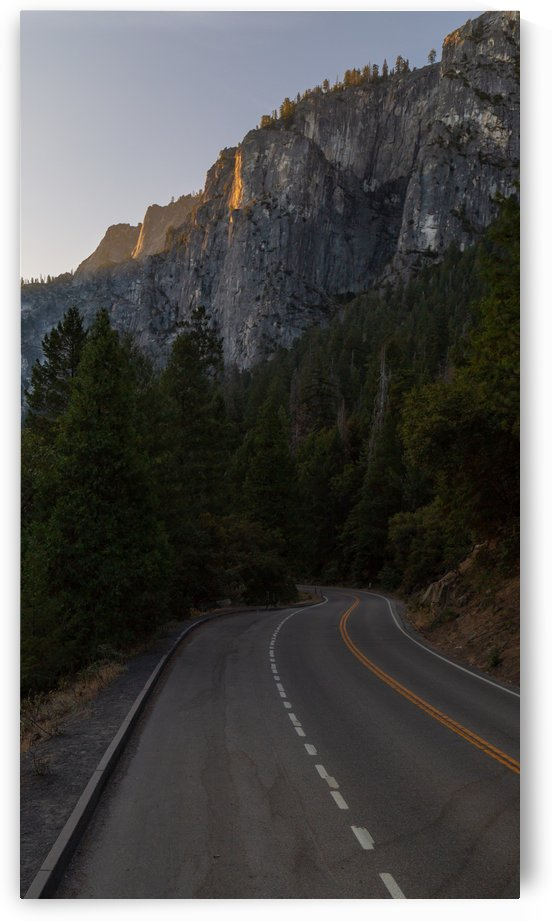 Abandoned Road to the Mountains Yosemite Valley by Noah E Geist