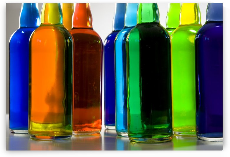 Colors in the Bottles by Bruce Rolff