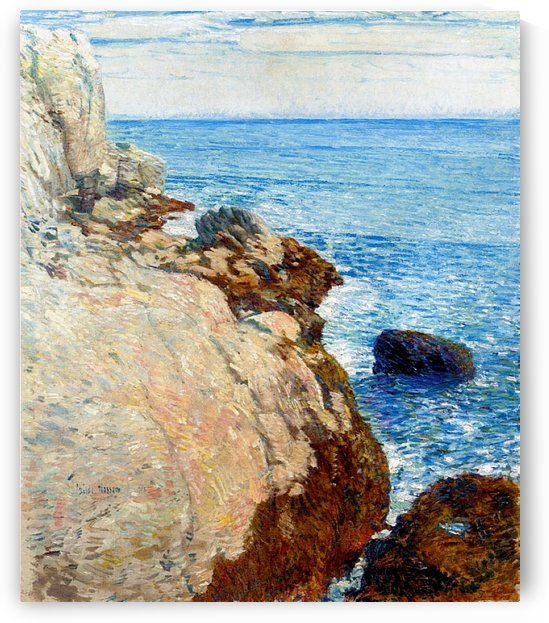 The East Headland, Appledore - Isles of Shoals by Frederick Childe Hassam