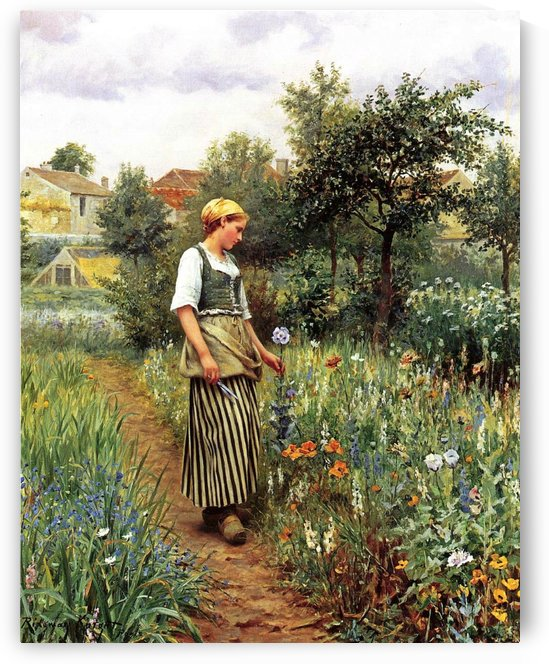 In the Garden by Georges dEspagnat