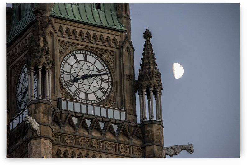 Parliaments Moon by Mr  Rivera