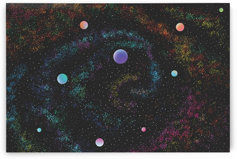 Celestial Vortex by Ayesha Javeed