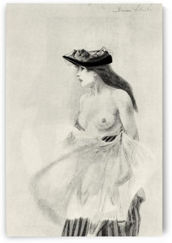 Good intentions by Felicien Rops by Felicien Rops