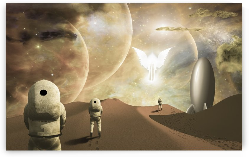 Space journey by Bruce Rolff