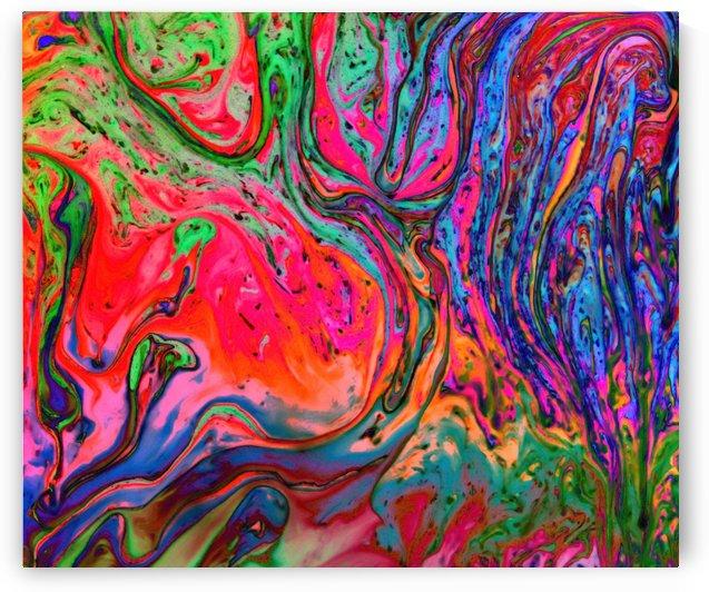 Bubbles Reimagined 72 by Bruce Bendinger
