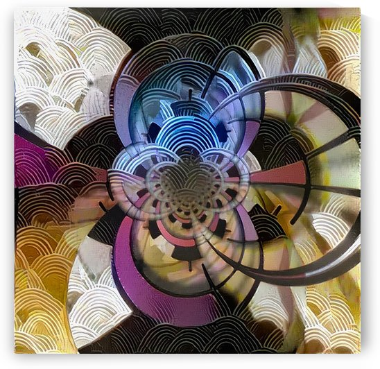 Concentric circles by Bruce Rolff