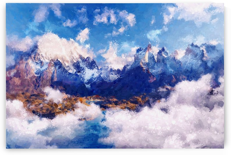 Mountains Artwork II by Art Design Works