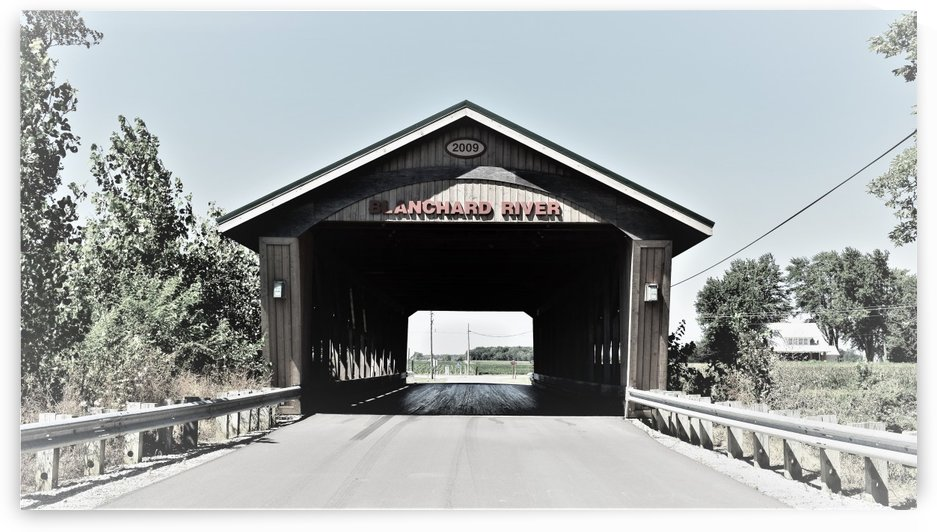 Blanchard Covered Bridge by Grace Hannah