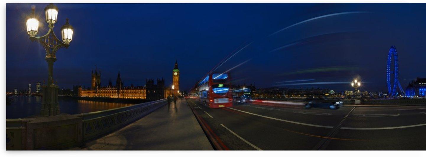 Westminster Bridge by Adrian Brockwell